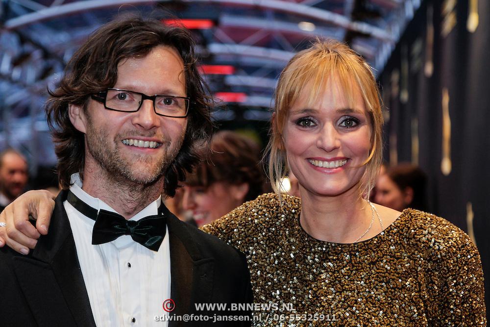 NLD/Utrecht/20121005- Gala van de Nederlandse Film 2012, Alek Goose en ????