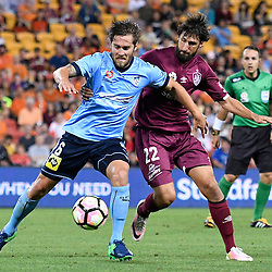 19th November 2016 - A-League RD7: Brisbane Roar v Sydney FC