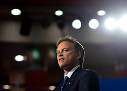 © Licensed to London News Pictures. 03/10/2012. Birmingham, UK Grant Shapps on Day 1 at The Conservative Party Conference at the ICC today 7th October 2012. Photo credit : Stephen Simpson/LNP
