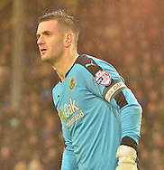 Burnley Goalkeeper, Thomas Heaton during the Sky Bet Championship match between Burnley and Preston North End at Turf Moor, Burnley, England on 5 December 2015. Photo by Mark Pollitt.