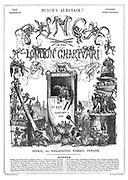 Punch or the London Charivari (front cover, 1 January 1842)
