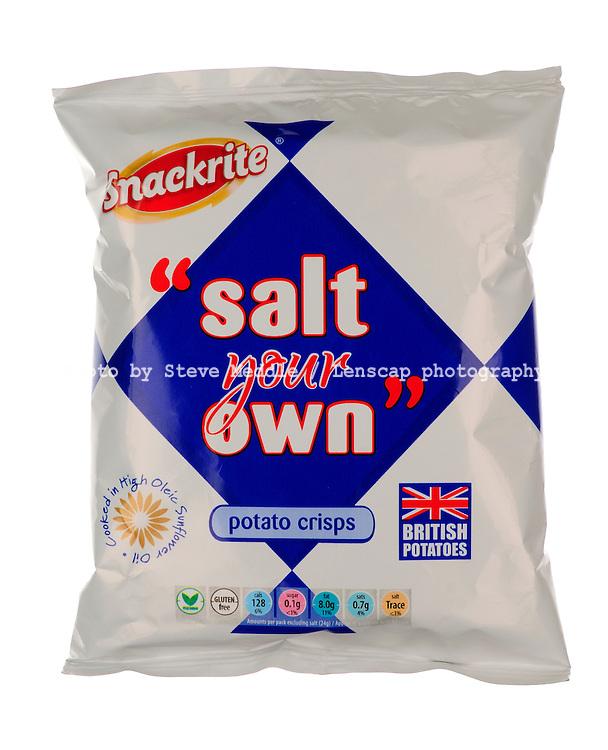 Packet of 'Salt your Own' Plain Crisps