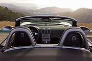 Bay Area Automotive Photographer Raymond Rudolph works with a car car during a San Francisco photoshoot