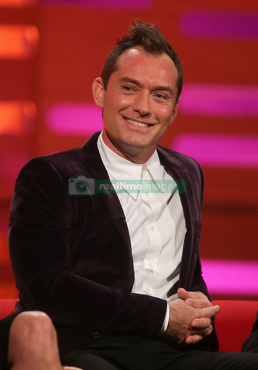 File photo dated 20/10/16 of Jude Law who will play the role of a young Professor Dumbledore in the sequel to Fantastic Beasts And Where To Find Them, according to reports.