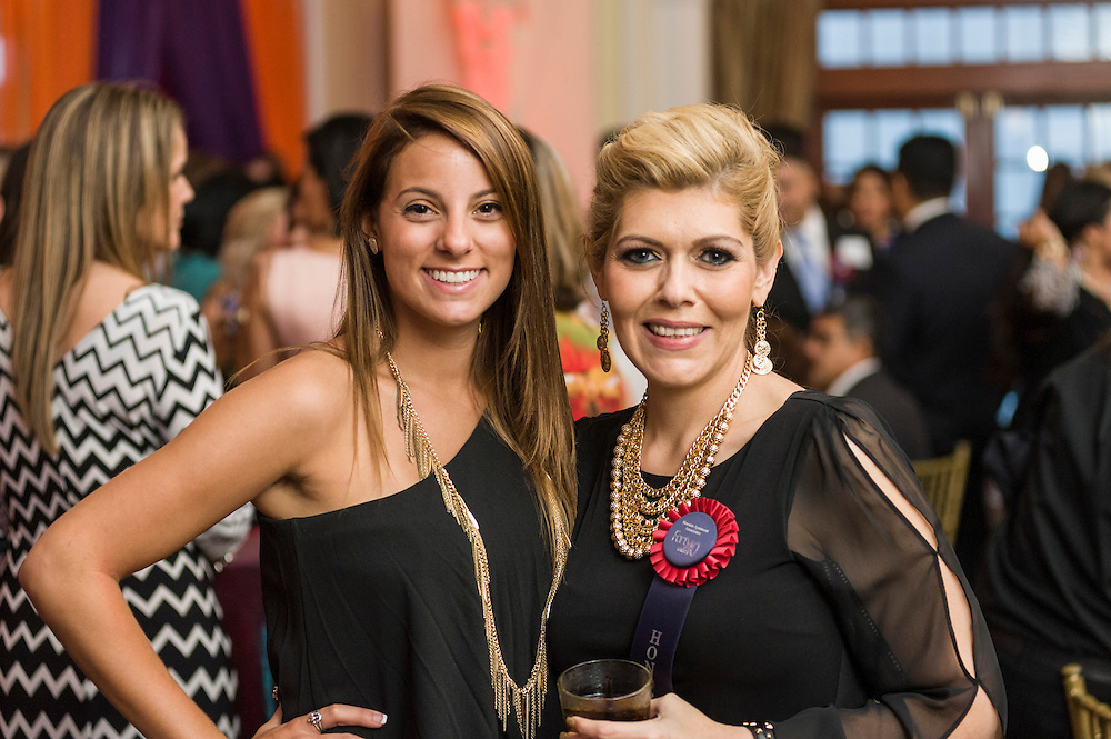 Photograph from the Houston Apartment Association 40 Under 40 celebration as held at the Crystal Ballroom at the historic Rice Hotel in downtown Houston on Thursday, September 11, 2014.