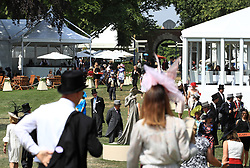 A general view of the Royal Enclosure during day two of Royal Ascot at Ascot Racecourse.