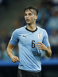 Rodrigo Bentancur of Uruguay during the 2018 FIFA World Cup Russia round of 16 match between Uruguay and at the Fisht Stadium on June 30, 2018 in Sochi, Russia