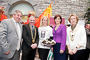 Galway launches 200 Gatherings ! Come home to Irelands Cultural Heart  with help of Cllr Michael Maher Galway County Mayor Tom Welby Galway International Oyster and Seafood Festival Suzanne Meade Galway City Mayor  Terry O Flaherty Cllr Hildegarde Naughton  at Aras An Contae. Picture Andrew Downes.