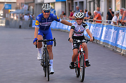 August 3, 2018 - Putte, BELGIUM - Dutch Fabio Jakobsen of Quick-Step Floors pictured during the kids ride of the 3rd edition of the 'Natourcriterium Putte' cycling event, Friday 03 August 2018 in Putte. The contest is a part of the traditional 'criteriums', local races in which mainly cyclists who rode the Tour de France compete. BELGA PHOTO LUC CLAESSEN (Credit Image: © Luc Claessen/Belga via ZUMA Press)