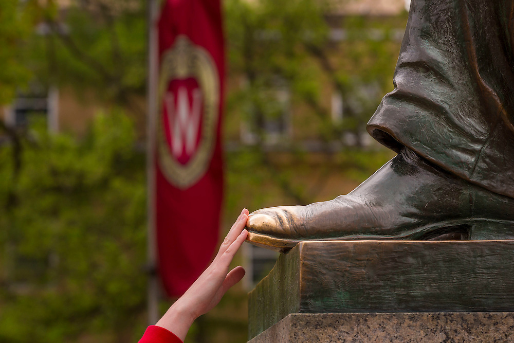 University of Wisconsin-Madison campus May 11, 2015. (Photo © Andy Manis)