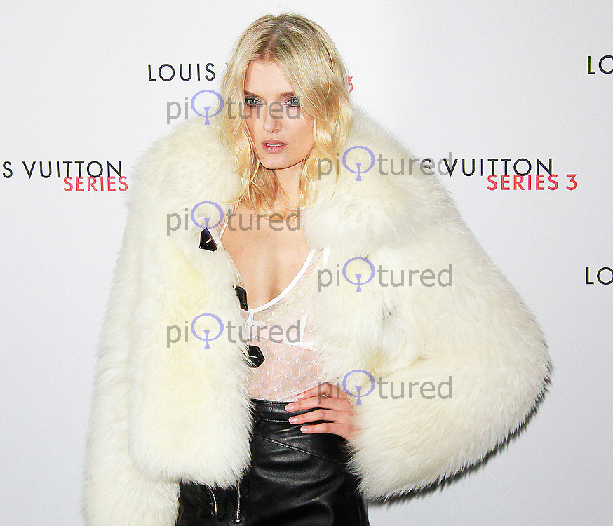 Lily Donaldson, LFW s/s 2016: Louis Vuitton Series 3 Exhibition - Launch Party & VIP Dinner, 180 The Strand, London UK, 20 September 2015, Photo by Brett D. Cove