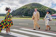 Koning Willem-Alexander en Koningin Máxima bezoeken de eilanden Saba, Sint Maarten en Sint Eustatius