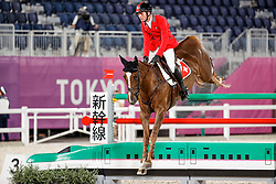 Balsiger Bryan, SUI, Twenty Two Des Biches, 381<br /> Olympic Games Tokyo 2021<br /> © Hippo Foto - Stefan Lafrentz<br /> 06/08/2021