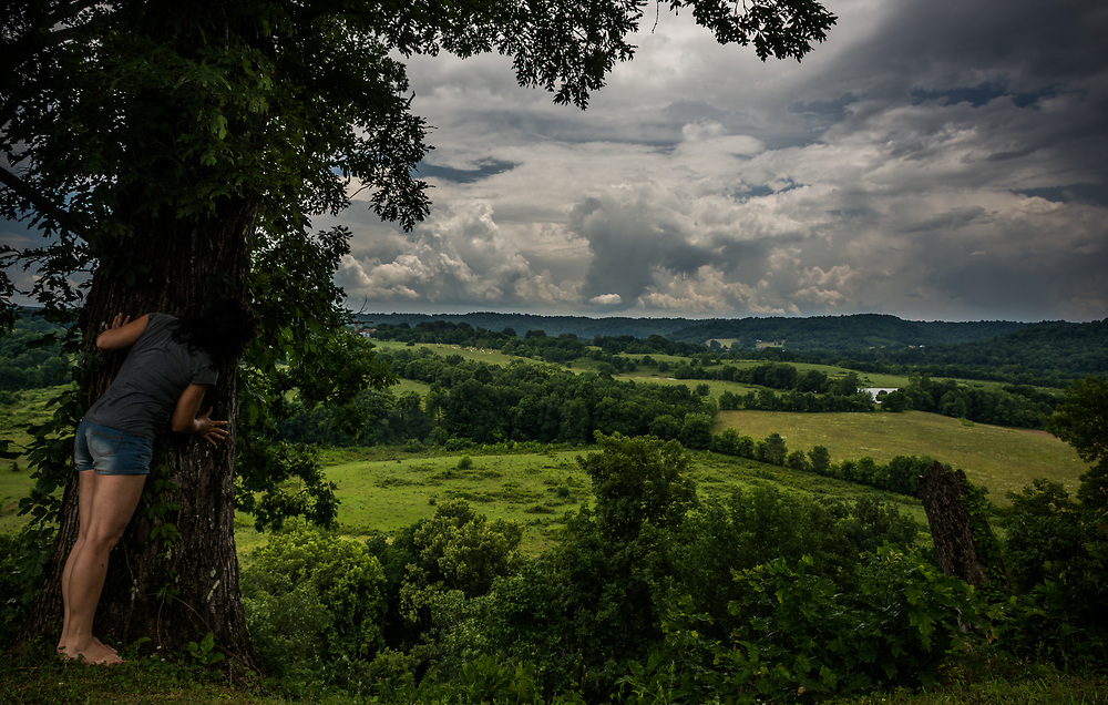 On the Natchez Trace Parkway, a beautiful view.