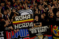 CSKA supporters.<br /> Roma 23-10-2018 Stadio Olimpico<br /> Football Calcio UEFA Champions League 2018/2019, Group G. <br /> AS Roma - CSKA Moscow<br /> Foto Antonietta Baldassarre / Insidefoto