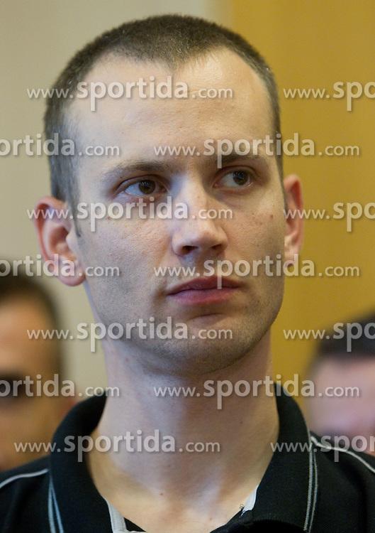 Gasper Potocnik, assistant coach during media day at training camp of Slovenian National Basketball team for Eurobasket Lithuania 2011, on July 19, 2011, in Arena Ljudski vrt, Ptuj, Slovenia.  (Photo by Vid Ponikvar / Sportida)