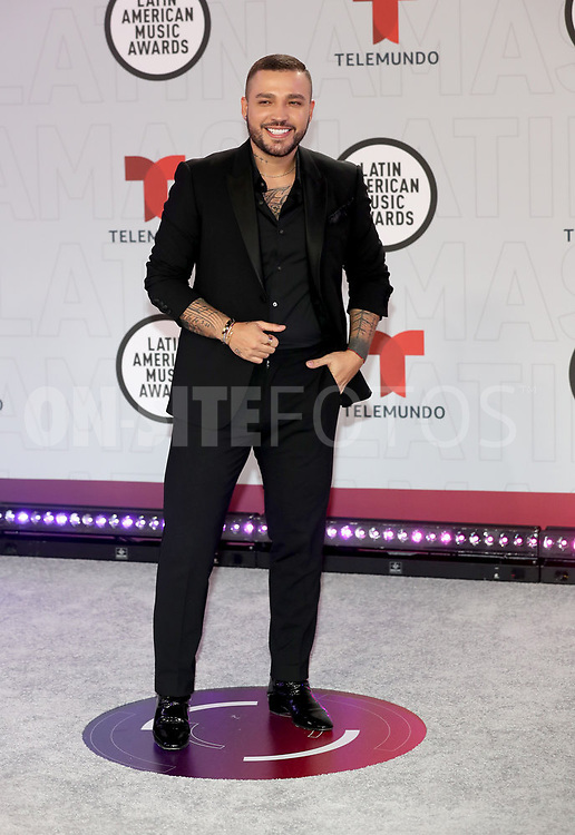 """2021 LATIN AMERICAN MUSIC AWARDS -- """"Red Carpet"""" -- Pictured: Jessi Uribe at the BB&T Center in Sunrise, FL on April 15, 2021 -- (Photo by: Aaron Davidson/Telemundo)"""