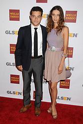 5 October 2012 - Beverly Hills, California - Rami Malek, Angela Sarafyan. 8th Annual GLSEN Respect Awards held at The Beverly Hills Hotel. Photo Credit: Byron Purvis/AdMedia/Sipa USA
