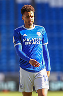 Cardiff City's Josh Murphy (11) in action during the EFL Sky Bet Championship match between Cardiff City and Nottingham Forest at the Cardiff City Stadium, Cardiff, Wales on 2 April 2021.