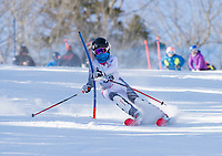Paul Ladouceur SL U12 ladies first run 17Mar18.  ©2018 Karen Bobotas Photographer