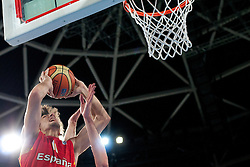 Daniel Diez of Spain during basketball match between National teams of Serbia and Spain in Placement match for 3rd place of U20 Men European Championship Slovenia 2012, on July 22, 2012 in SRC Stozice, Ljubljana, Slovenia. (Photo by Urban Urbanc / Sportida.com)