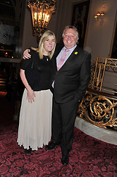 NICK FERRARI and SIOBHAN WYKES at the Audi Ballet Evening held at the Royal Opera House, Bow Street, Covent Garden, London on 22nd March 2012.