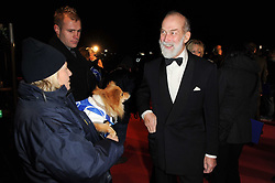 HRH PRINCE MICHAEL OF KENT at the Collars & Coats Gala Ball celebrating 150 years of Battersea Dogs & Cats Home held at Battersea Power Station, London on 25th November 2010.