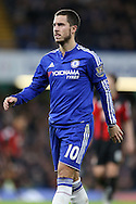 Eden Hazard of Chelsea looks on. Barclays Premier league match, Chelsea v AFC Bournemouth at Stamford Bridge in London on Saturday 5th December 2015.<br /> pic by John Patrick Fletcher, Andrew Orchard sports photography.