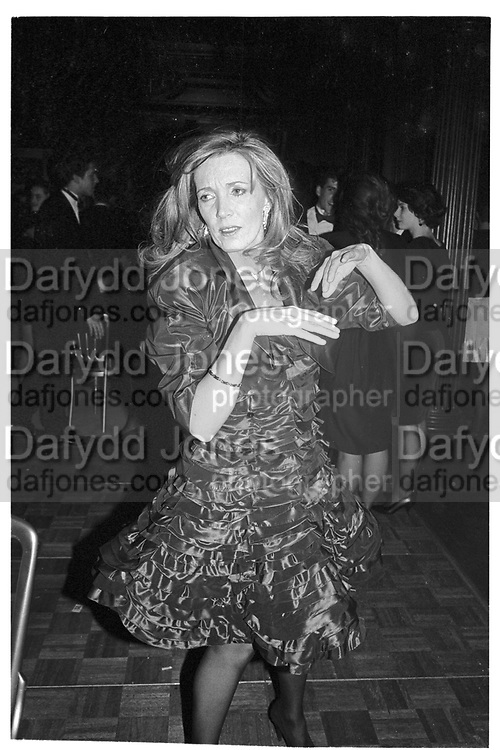 KATHY CEATON;, Matthew Vaughan 18th birthday. Novello Room, Wardour St, London. 17 March 1989,<br /> <br /> SUPPLIED FOR ONE-TIME USE ONLY> DO NOT ARCHIVE. © Copyright Photograph by Dafydd Jones 248 Clapham Rd.  London SW90PZ Tel 020 7820 0771 www.dafjones.com