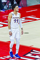 NORMAL, IL - February 27: Trae Berhow during a college basketball game between the ISU Redbirds and the Northern Iowa Panthers on February 27 2021 at Redbird Arena in Normal, IL. (Photo by Alan Look)