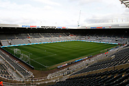 General view of St James's Park  during the EFL Sky Bet Championship match between Newcastle United and Burton Albion at St. James's Park, Newcastle, England on 5 April 2017. Photo by Richard Holmes.
