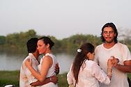 Dancing along the river Magdalena