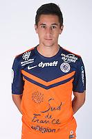 Quentin CORNETTE - 23.07.2014 - Portraits officiels Montpellier - Ligue 1 2014/2015<br /> Photo : Icon Sport