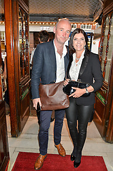 DR DAWN HARPER and JACK HARRIES at a Gala Performance of Impossible at the Noël Coward Theatre, 85-88 Saint Martin's Lane, London on 13th July 2016.