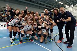 20190131 NED: Semi Final Cup Sliedrecht Sport - Eurosped, Sliedrecht <br />Sliedrecht Sport wint met 3-1 van Eurosped en kwalificeert zich voor de finale in Zwolle<br />©2019-FotoHoogendoorn.nl / Pim Waslander