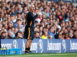 18.09.2010, White Hart Lane, London, ENG, PL, Tottenham Hotspur vs Wolverhampton Wanderers, im Bild Mick McCarthy Manager of Wolverhampton Wanderers. EXPA Pictures © 2010, PhotoCredit: EXPA/ IPS/ Kieran Galvin +++++ ATTENTION - OUT OF ENGLAND/UK +++++ / SPORTIDA PHOTO AGENCY