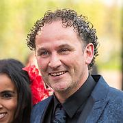 NLD/Hilversum//20170821 - Voetbalgala 2017, Reinold Wiedemeijer en partner