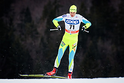 Dolar Miha (SLO) during Man 1.2 km Free Sprint Qualification race at FIS Cross<br /> Country World Cup Planica 2016, on January 16, 2016 at Planica,Slovenia. Photo by Ziga Zupan / Sportida