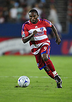 Fotball<br /> USA<br /> Foto: imago/Digitalsport<br /> NORWAY ONLY<br /> <br /> 01.08.2009  <br /> Kansas City Wizards at FC Dallas<br /> Jeff Cunningham of Dallas in action in Frisco