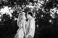 Caroline Otto & Matt Lemire, photographed August 15, 2009 on the ground of the University of Mary Washington, where they met in school.
