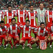 NLD/Amsterdam/20070802 - LG Amsterdams Tournament 2007, Ajax - Atletico Madrid, teamfoto Atletico