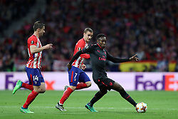 May 3, 2018 - Madrid, Spain - DANNY WELBECK of Arsenal FC during the UEFA Europa League, semi final, 2nd leg football match between Atletico de Madrid and Arsenal FC on May 3, 2018 at Metropolitano stadium in Madrid, Spain (Credit Image: © Manuel Blondeau via ZUMA Wire)