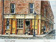 Randon Images of postcard drawings from Ireland, Old Dublin Shop Front Francis ST 1890, Old amateur photos of Dublin streets churches, cars, lanes, roads, shops schools, hospitals