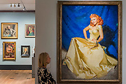 Anna Neagle by McClelland Barclay - The National Portrait Gallery, London opens brand new gallery spaces devoted to its early 20th Century Collection on 4 November 2017. The creation of these new spaces within the Gallery's free permanent Collection, has been made possible by a grant from the DCMS/ Wolfson Museums & Galleries Improvement Fund. London 03 Nov 2017.
