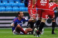 Fotball , 30. Juli 2012, Tippeligaen , Eliteserien <br /> Vålerenga IF - SK Brann<br /> Bojan Zajic roper på Straffe<br /> Foto: Sjur Stølen , Digitalsport