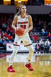 NORMAL, IL - January 07: Matt Chastain during a college basketball game between the ISU Redbirds and the University of Missouri State Bears on January 07 2020 at Redbird Arena in Normal, IL. (Photo by Alan Look)
