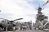 Fleet Week 2009 onboard the Iwo Jima in New York City