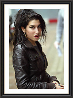 Amy WineHhouse London OCT 2006<br /> Large Museum-quality Archival signed Framed Print