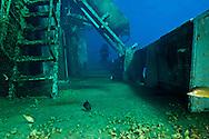 On deck, starboard side, USS Kittiwake