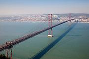 25th of April bridge in Lisbon.